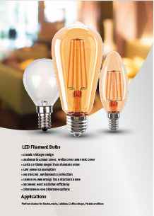 VTAC filament LED izzók