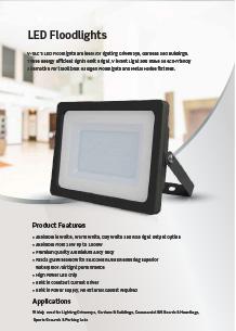 VTAC LED reflektorok