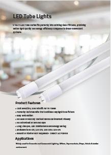 VTAC LED fénycsövek