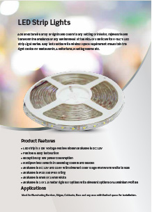 VTAC LED szalagok