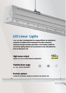VTAC LED sín világítás
