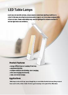 VTAC LED asztali lámpák