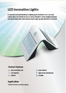 VTAC LED innovatív világítás