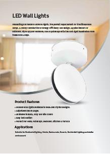 VTAC LED fali dizájnlámpák