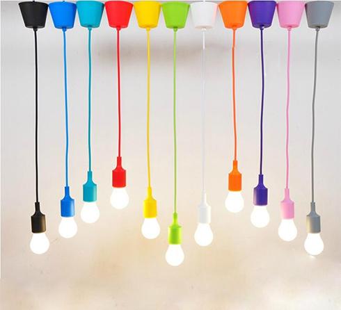 E27-es függeszték (minimal lámpatest) színválaszték