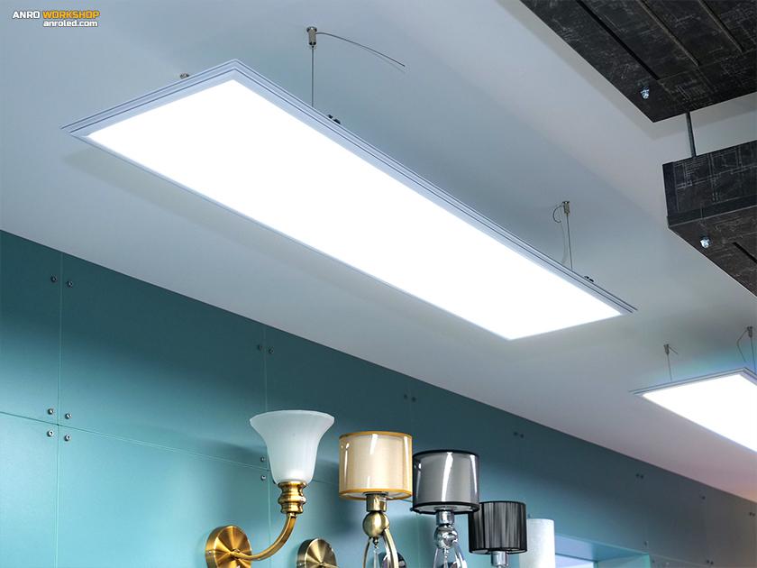 LED panel függesztődrót világítástechnikai szaküzletünkben