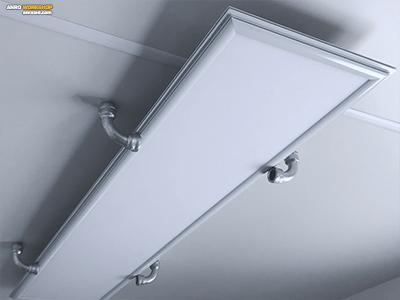 Egyedi LED panel tartó horganyzott ívből