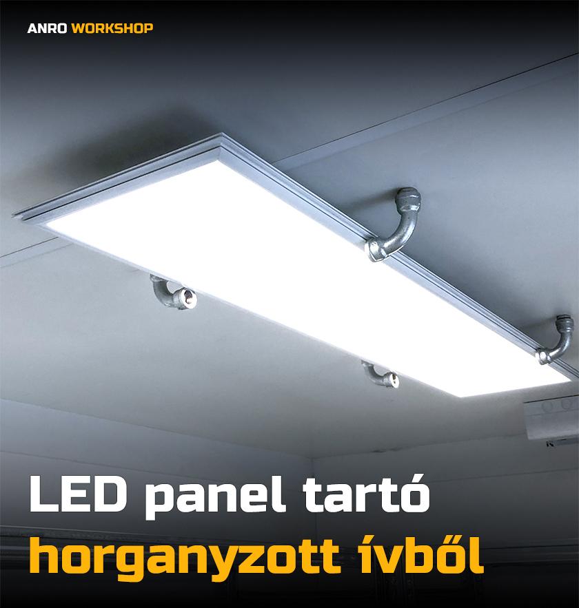 spot lámpa tartó készítése