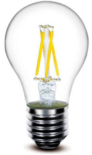 Filament (szálas, izzószálas) LED lámpák Chip On Glass LED technológiával!