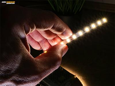5mm széles LED szalag 2835-ös Chip On Board ledekkel: alacsony fogyasztás és nagy fényerő!