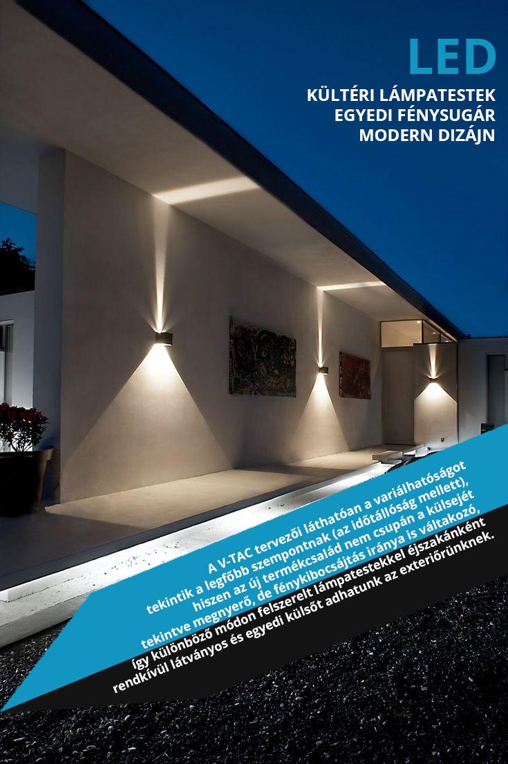 LightHouse kültéri design LED lámpák