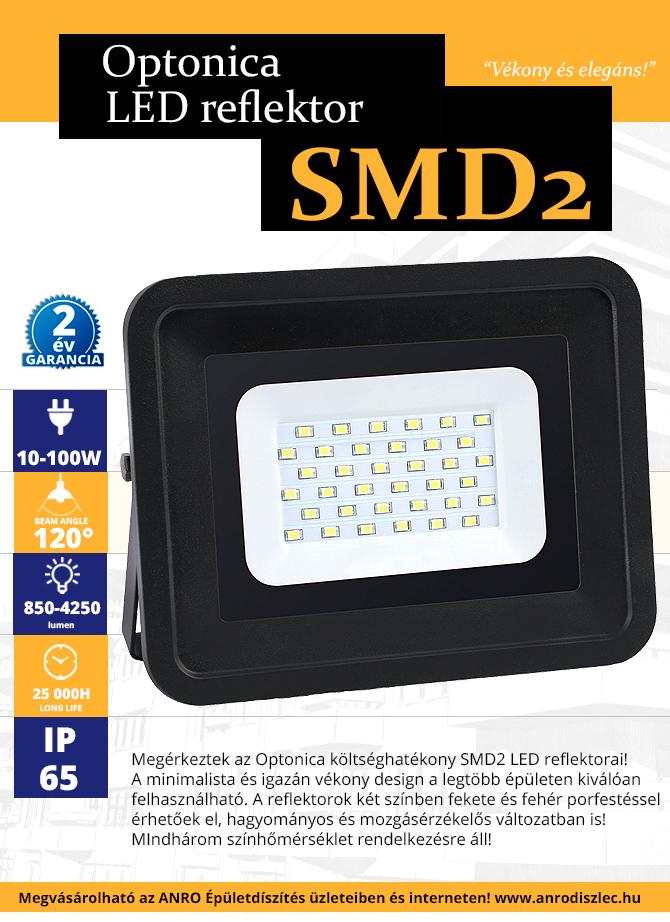 5+5 akció az Optonica SMD2 LED reflektoraira