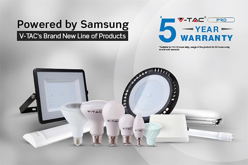 A V-TAC is csatlakozott a Samsung márkaprogramhoz