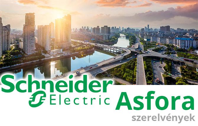 Schneider Asfora kapcsoló, konnektor bemutató