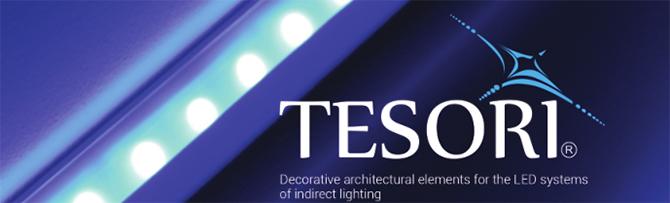 Elite Decor - Tesori rejtett világításos díszlécek