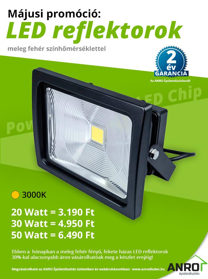 LED reflektor akció!