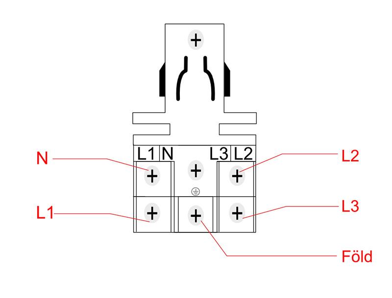 3 fázisú panel csatlakoztatható