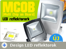 LED reflektorok - Új design!