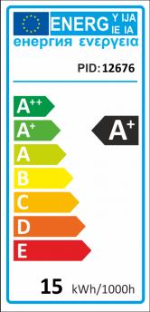 V-TAC E27 LED lámpa 15W (40°) - PAR38 IP65 zöld
