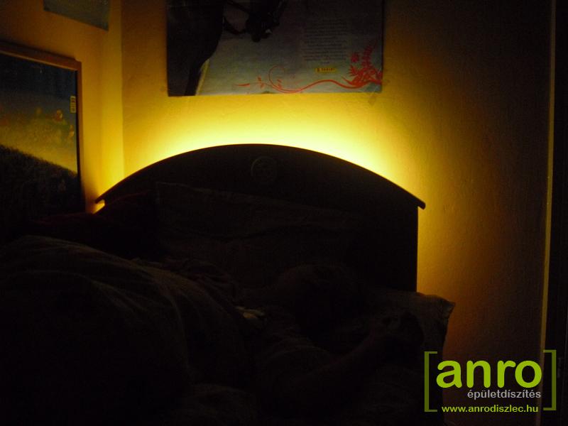 Hálószoba, ágy világítás ötletek 2012. - Díszléc és LED lámpa Webáruház