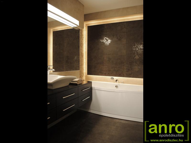 Fürdőszoba világítás ötletek 2012. - Díszléc és LED lámpa Webáruház