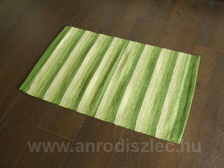 Függöny Center Fürdőszobai kilépő szőnyeg Ural zöld csíkos (60x120cm) - Ár: 2 709 Ft - Szőnyeg ...