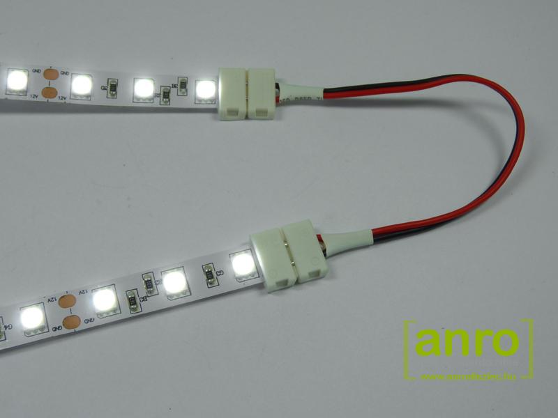 Flexibilis LED szalag sarok és toldó elem