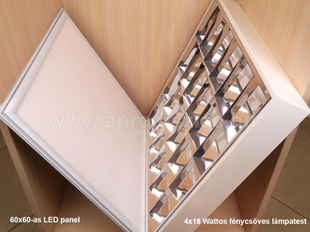 v tac led panel 600 x 600 mm 40 watt hideg feh r ip65 5 v r 20 304 ft led panel. Black Bedroom Furniture Sets. Home Design Ideas