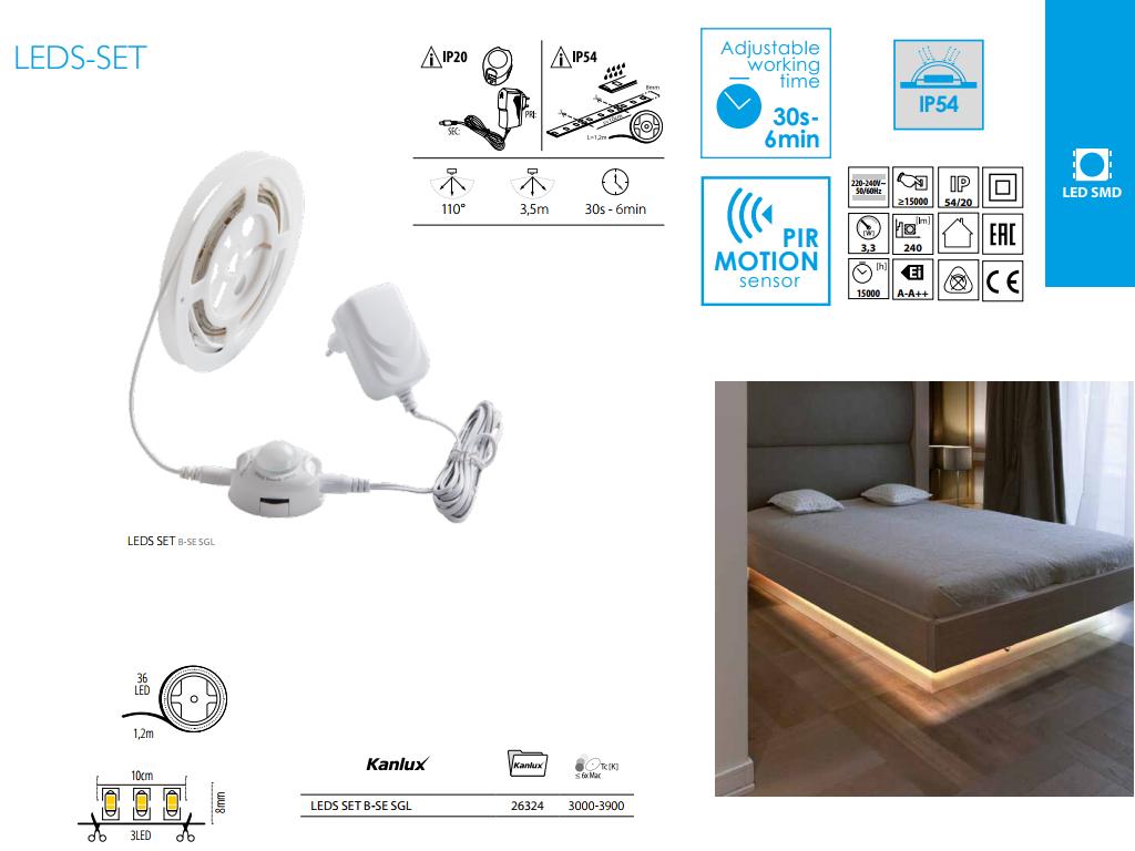 Kanlux LED-szett