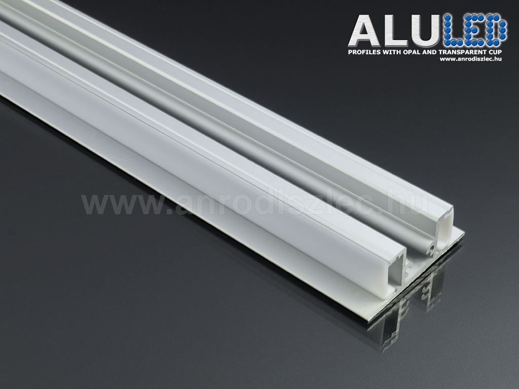 alu led aluminium profil elox lt alp 050 led szalaghoz. Black Bedroom Furniture Sets. Home Design Ideas