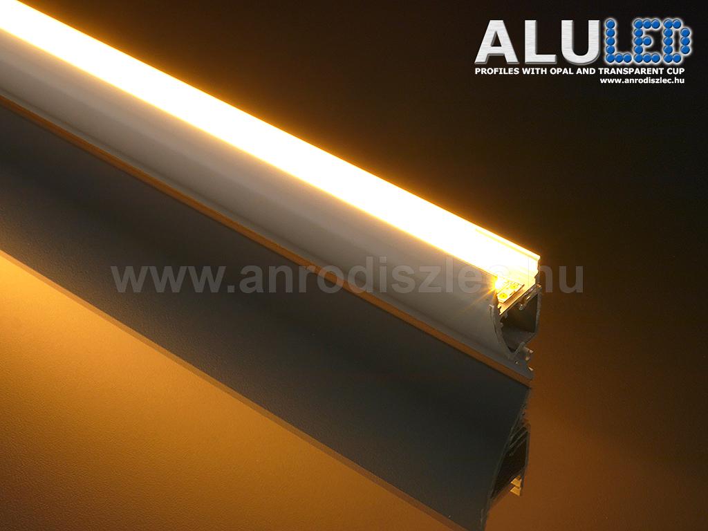 alu led aluminium profil elox lt alp 062 led szalaghoz. Black Bedroom Furniture Sets. Home Design Ideas