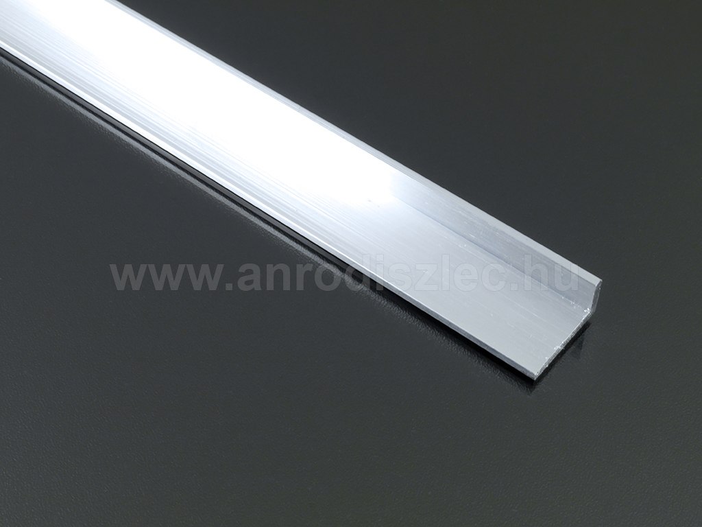 aluminium l profil led szalaghoz 20 mm x 10 mm r 400 ft alum nium led profil aluprofilok. Black Bedroom Furniture Sets. Home Design Ideas