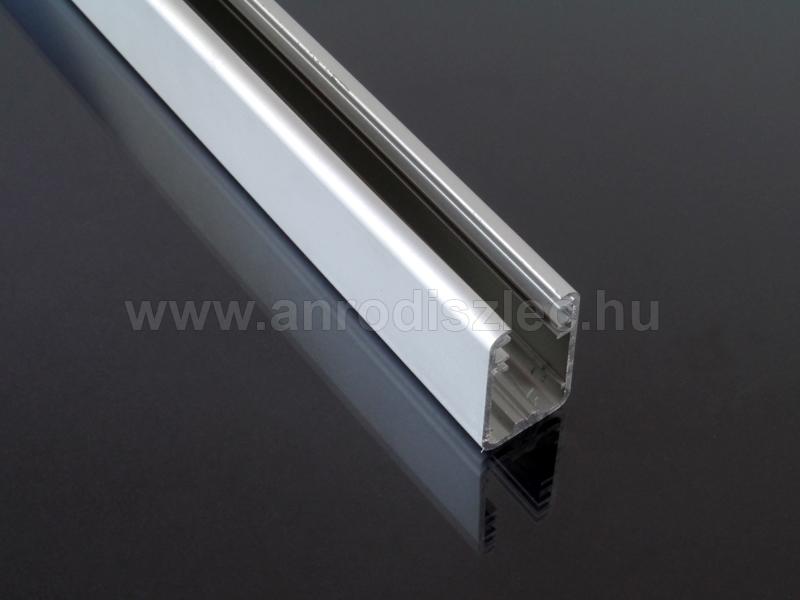 Fabulous Aluminium U profil LED szalaghoz - üveglaphoz (27 mm) - Ár: 3 211  YU68