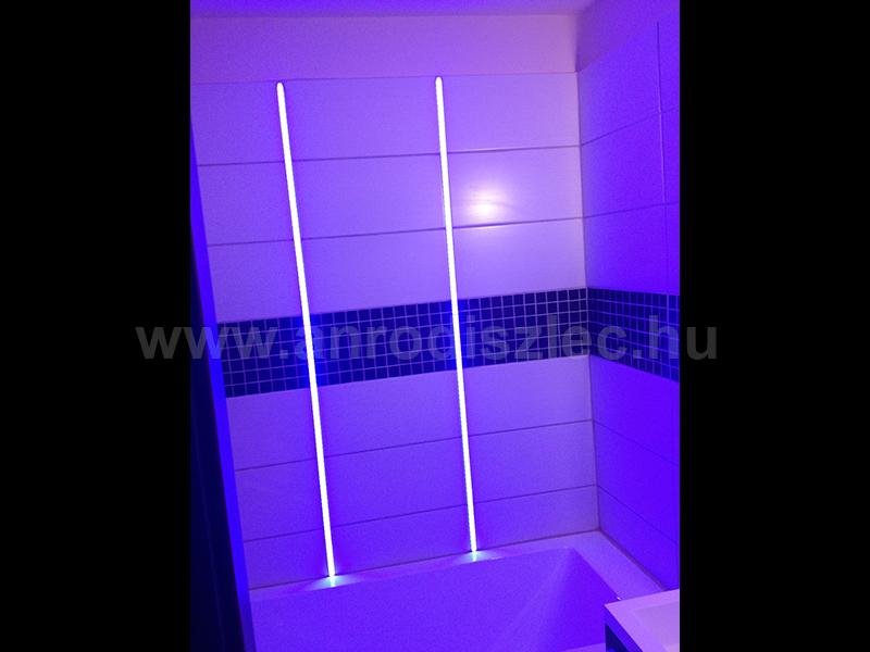 LED Profiles Aluminium profil eloxált (ALP-009) csempébe ...
