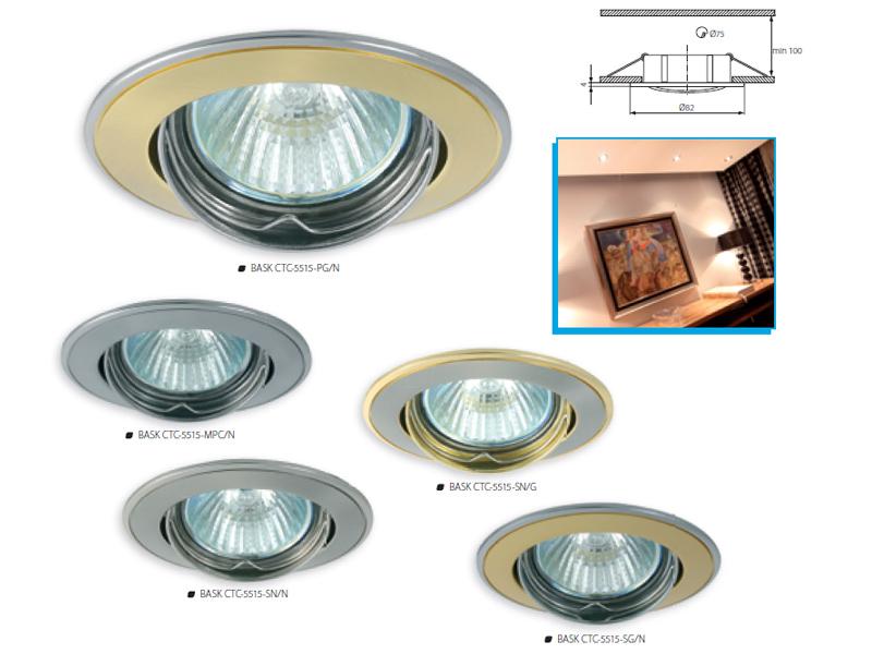 Beépíthető spot lámpa