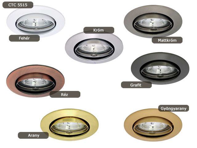 Vidi billenthető öntvény spot lámpatest