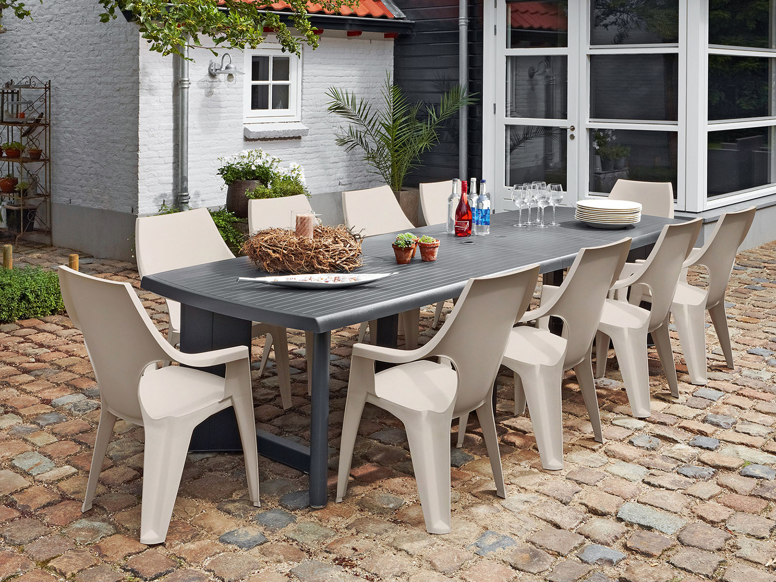 dante alacsonytámlás kerti szék