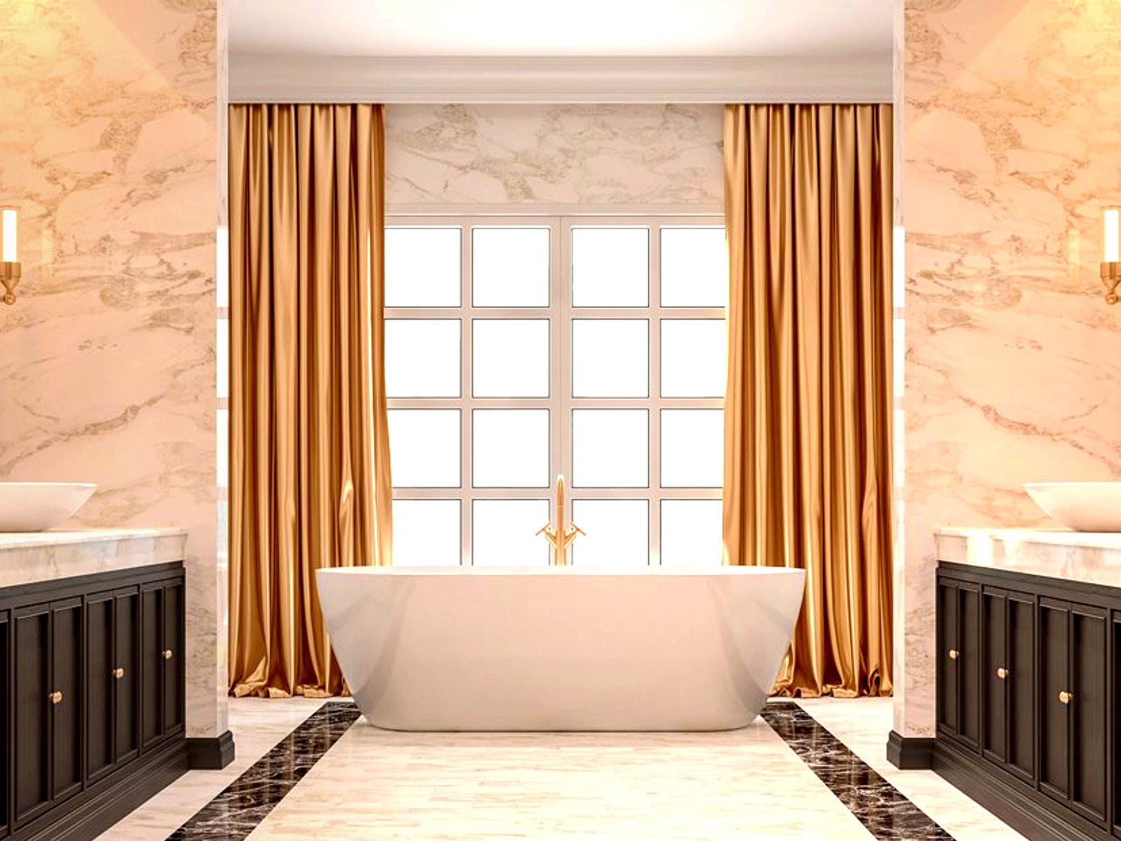 Az Elite Decor padlószegély léc fürdőszobában is beépíthető