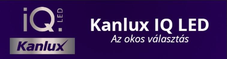 Kanlux IQ LED izzók - az okos választás