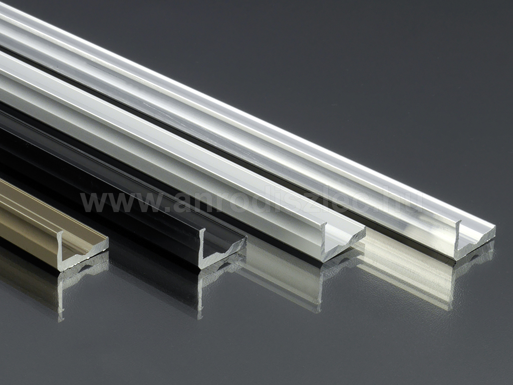 lumines aluminium l profil led szalaghoz 16x10 mm ez st. Black Bedroom Furniture Sets. Home Design Ideas