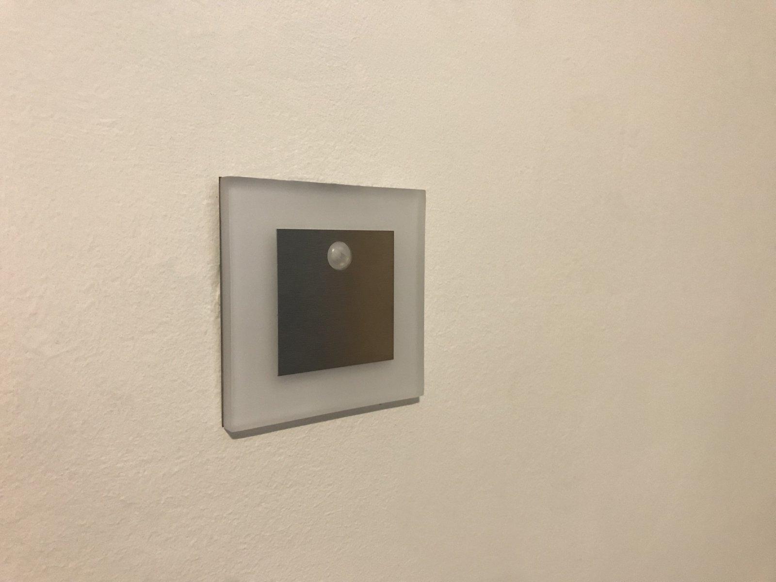 Beépíthető lapos lámpa Kanlux Apus LED Pir 12V