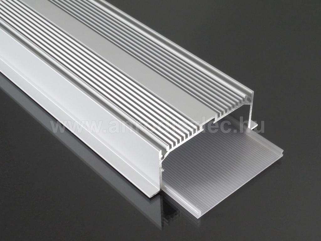 alu led aluminium profil elox lt alp 047 led szalaghoz op l r 7 490 ft alum nium led. Black Bedroom Furniture Sets. Home Design Ideas