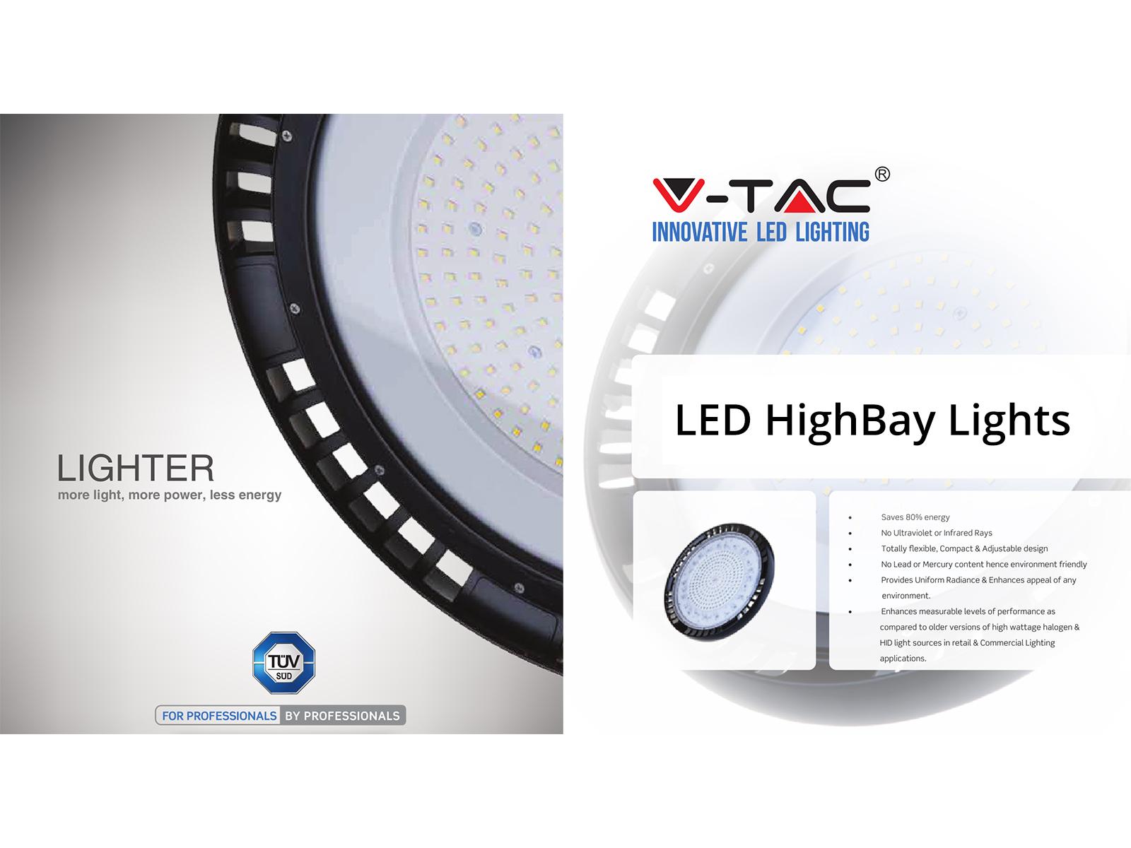LED csarnokvilágítás formák