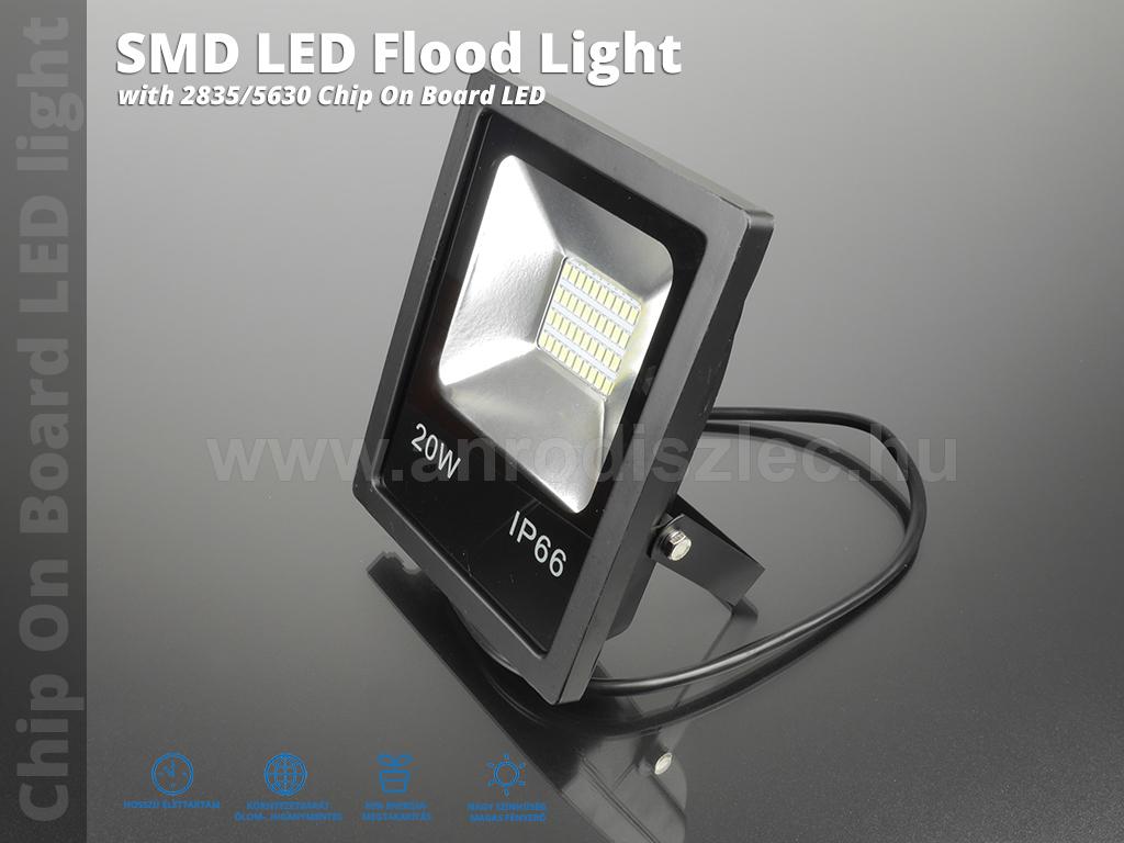 optonica smd led reflektor 20 watt 150 meleg feh r r. Black Bedroom Furniture Sets. Home Design Ideas