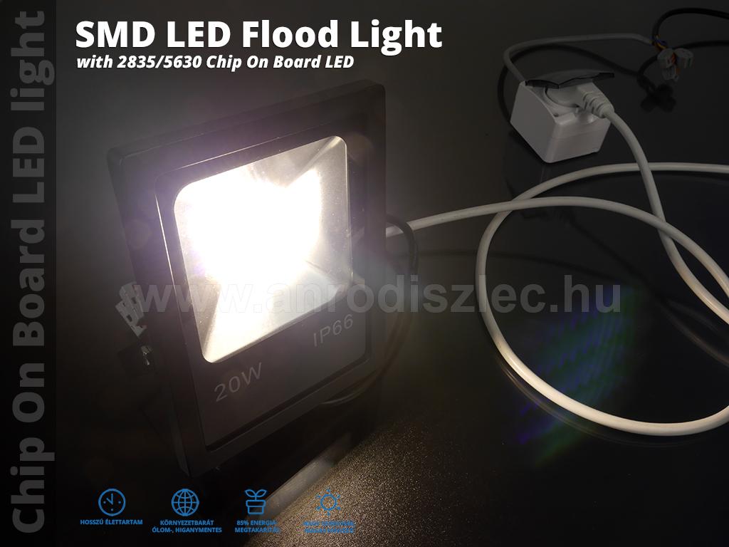 optonica smd led reflektor 20 watt 150 term szetes. Black Bedroom Furniture Sets. Home Design Ideas