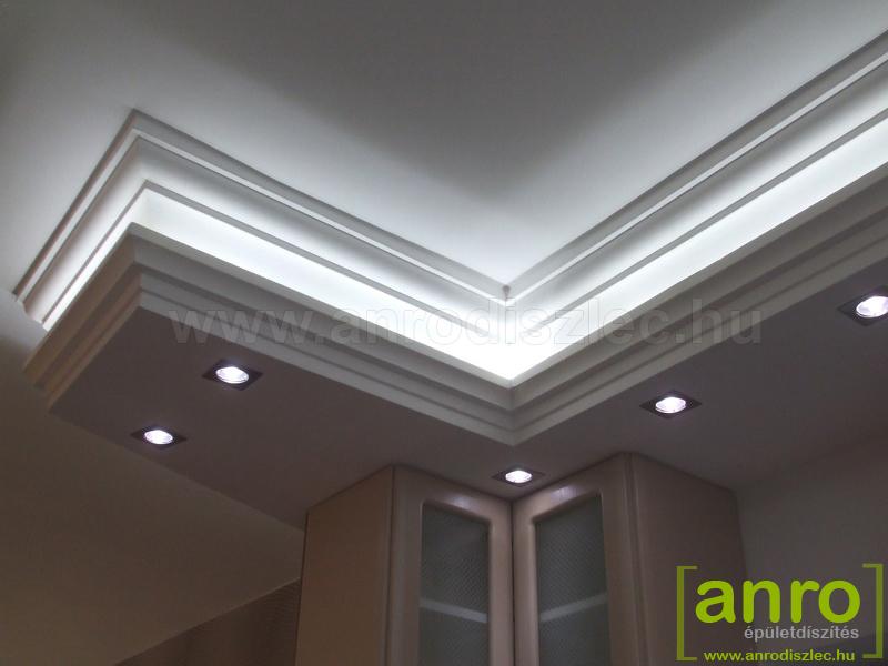 Rejtett világítás fehér LED szalaggal