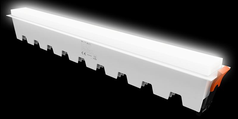 Linearis hosszú és vékony LED panelek