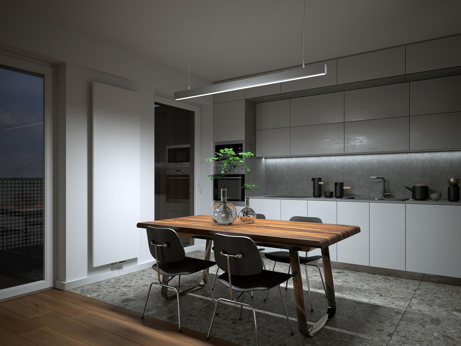Lumines Claro LED függeszték asztal feletti LED világításhoz