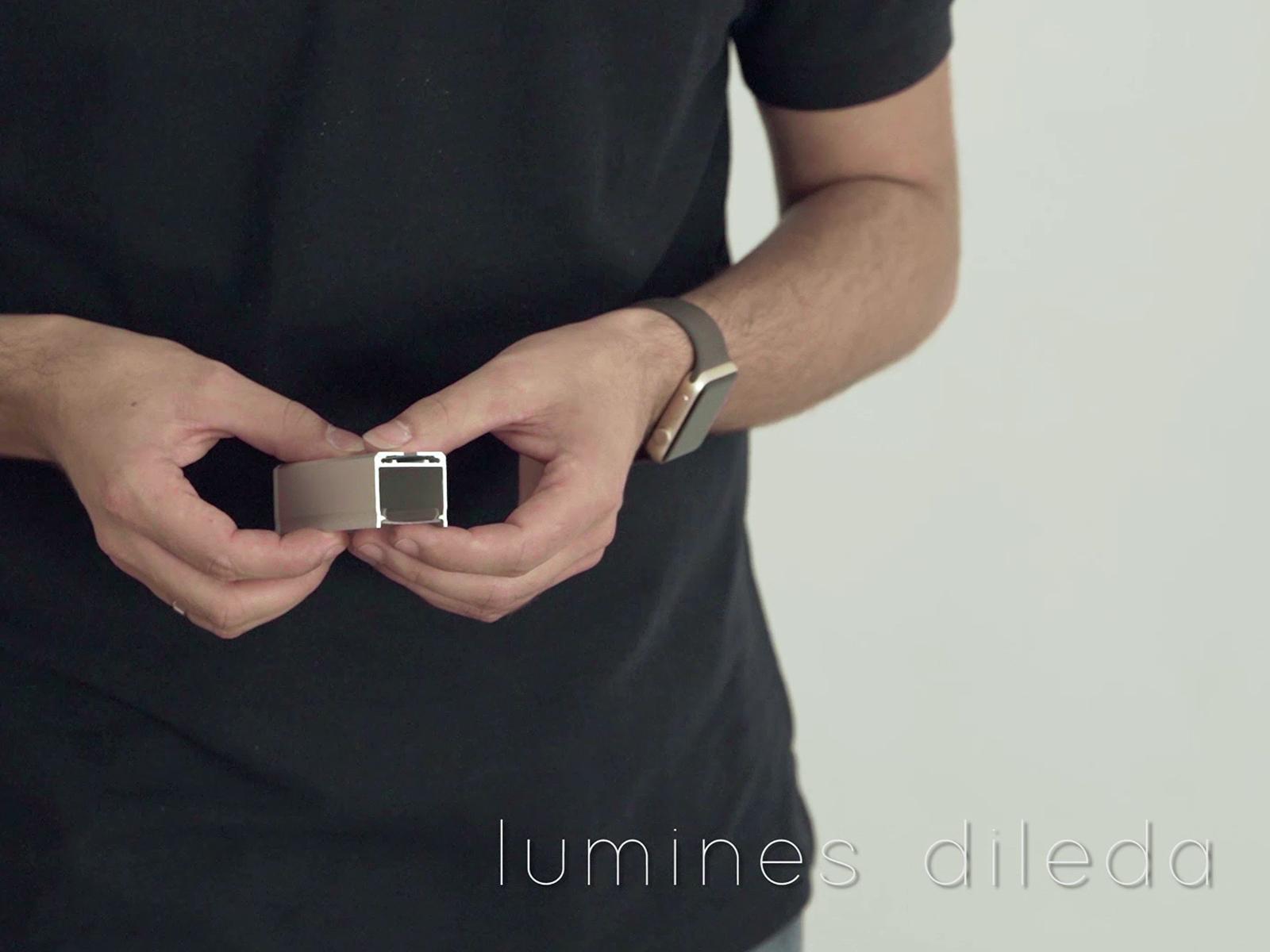 Lumines Dileda függeszthető LED profil horony