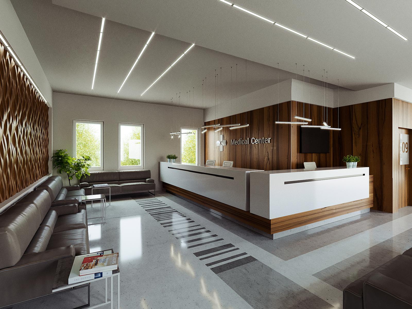 Függesztett alumínium LED profilok lámpaként használva